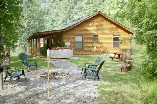Lands Creek Log Cabins: Our cabin