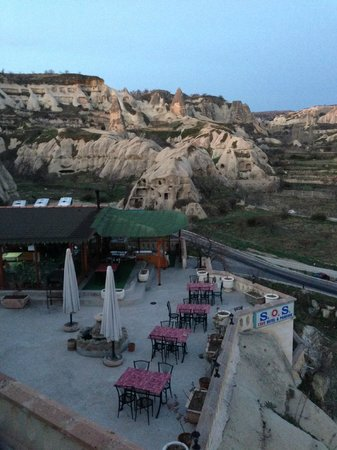 SOS Cave Hotel: View from the Rooftop