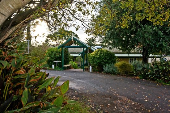 Margaret River Guest House : Entrance to property
