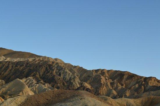 Twenty Mule Team Canyon: Blue Sky, Golden Landscape JUNE 2012