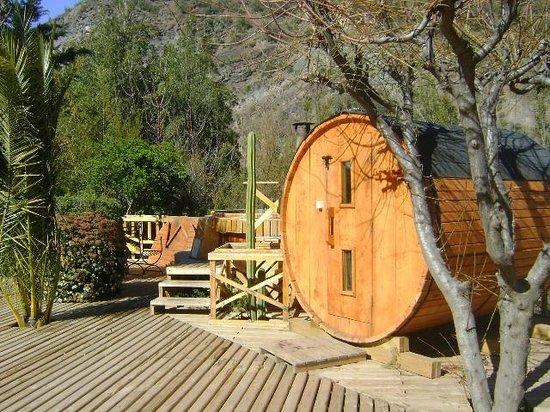 Santuario del Rio : sauna