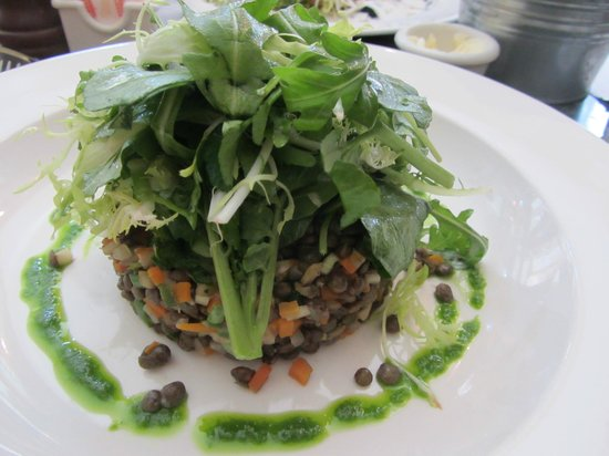 Tartine : Classic French Provincial Dish - Warm Lentil Salad
