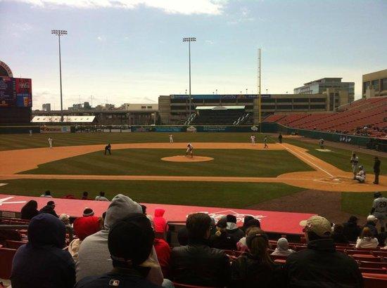 Coca-Cola Field: Buffalo Bisons VS W-Barre-Scranton RailRiders 4-14-2013