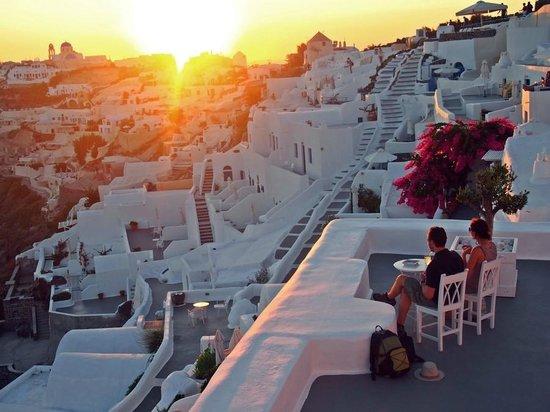 Gabbiano Apartments: sunset view