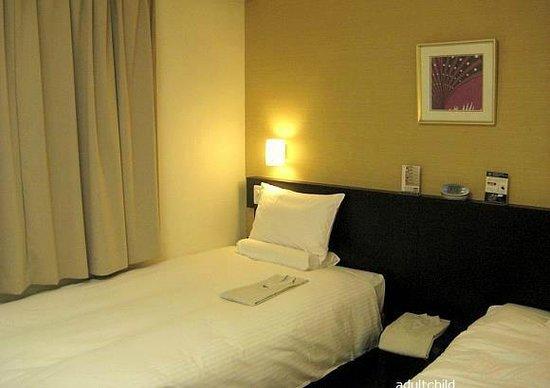 Smile Hotel Tokyo Nihombashi: Bedroom (TW)