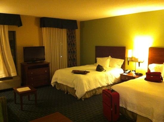 Hampton Inn & Suites Little Rock - Downtown: nice beds
