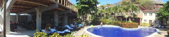 El Sunzal, El Salvador: Hotel View