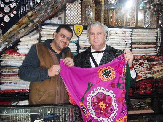 Old City: Buying Carpets