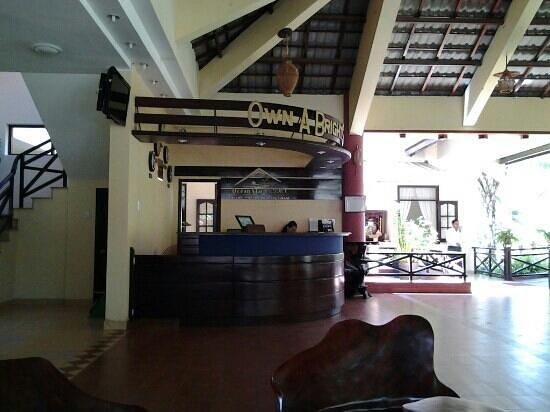 Ocean Star Resort: ресепшен