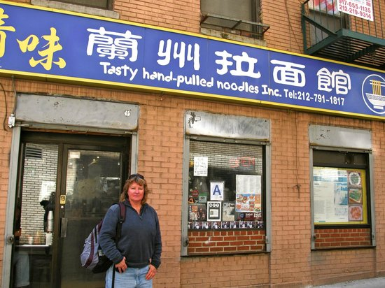 Tasty Hand Pulled Noodles : Outside the restaurant