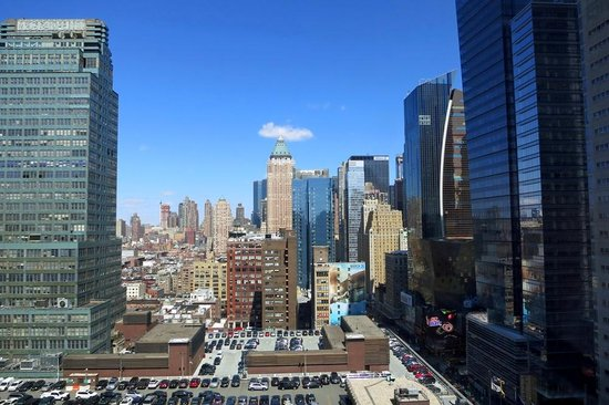 Element New York Times Square West: View from 29th Floor