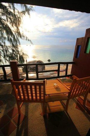 Goodtime Beach Hostel: Delux sea view balcony