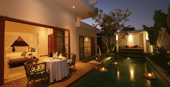 The Samaya Bali Seminyak: Pool at suite room
