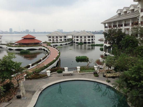 InterContinental Hanoi Westlake: View from room