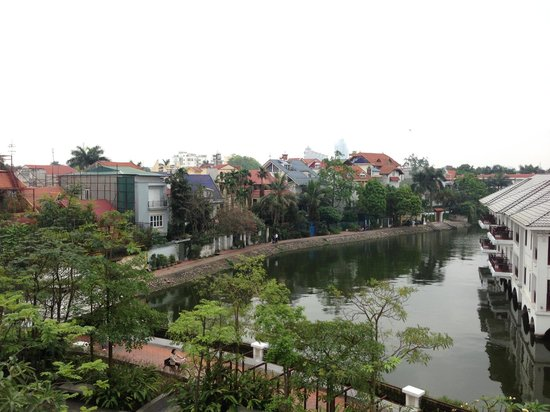 InterContinental Hanoi Westlake: View from club lounge