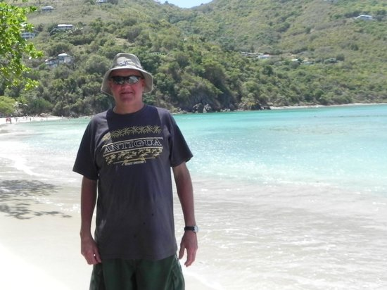 Brewers Bay: Me in Paradise in Tortola