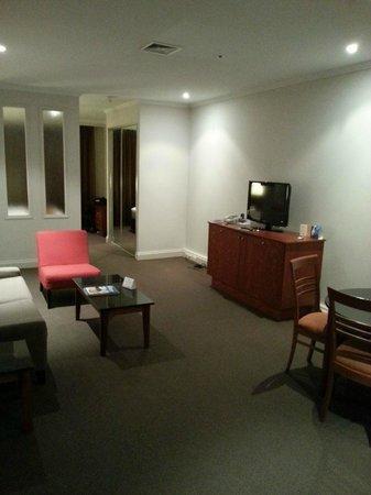 Mantra on Little Bourke: Lounge area