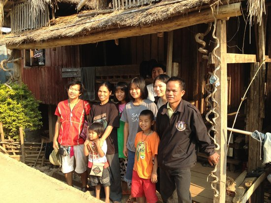 Thailand Hilltribe Holidays Homestay: Great time with a family