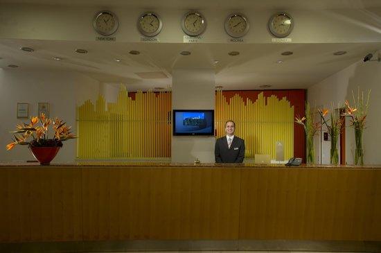 City Hotel Ljubljana: Reception
