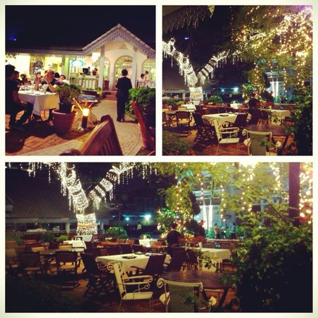 Outdoor Seating At Night Picture Of Secret Garden Bangkok