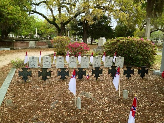Magnolia Cemetery: Hunley Memorial