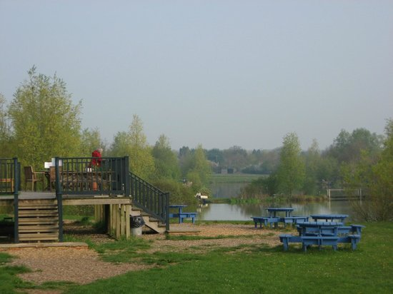 Clavering Lakes & Lodge: Terrace of the Lodge