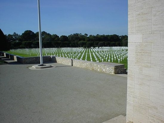 North Africa American Cemetery and Memorial : North Africa American Cemetery Carthage Tunisia