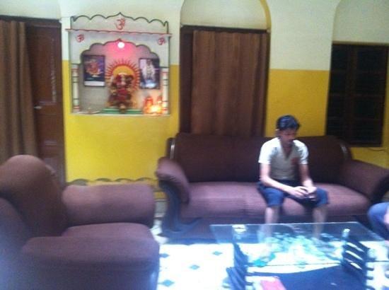 Shivakashi Guest House: downstairs