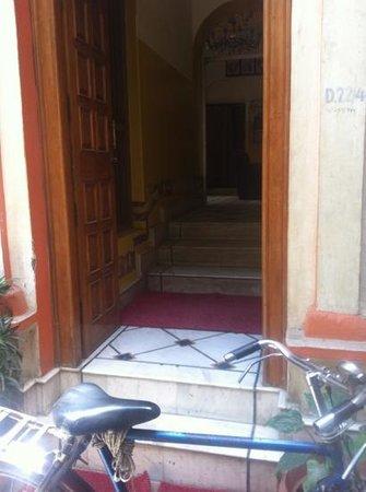 Shivakashi Guest House: main door