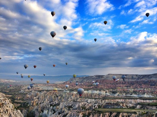 Hot Air Ballooning Cappadocia : View from my balloon