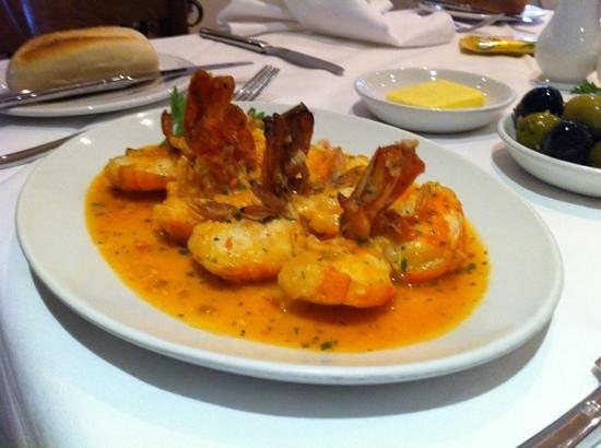 Ninos kinge Prawn starter Spicy garlic ,brandy sauce - Picture of Nino ...