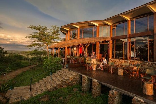 Serengeti Simba Lodge : Sun Deck