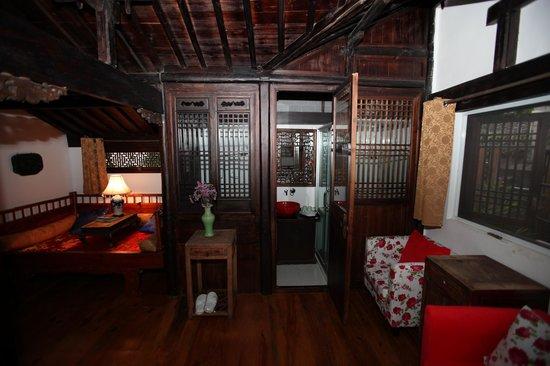 Hui Boutique Hotel : 外表古樸內裝摩登的衛浴