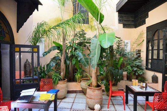 Riad d'Or Hotel: Innenhof