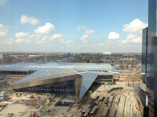 Rotterdam Marriott Hotel: View