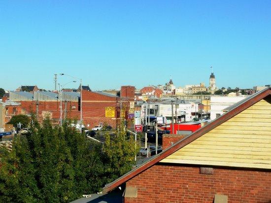 Comfort Inn & Suites City Views : Not quite the city views we envisaged