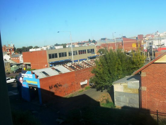 Comfort Inn & Suites City Views : Not the most attractive view
