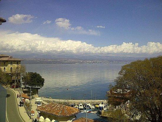 Hotel Park Lovran: sea view
