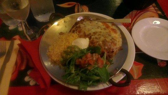 Indiyum Indian Restaurant: Indian Mexican Combo