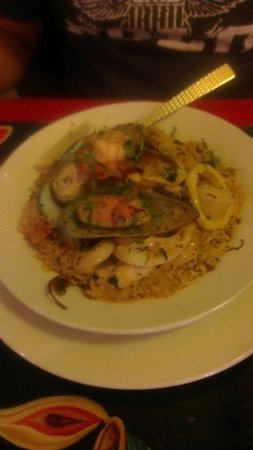 Indiyum Indian Restaurant: Seafood