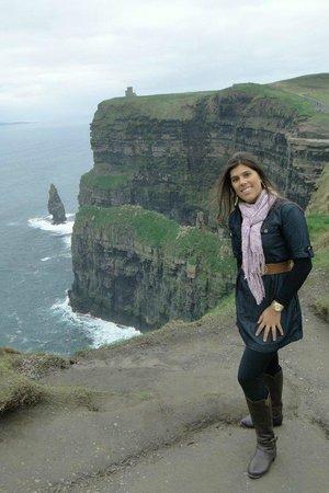 Liscannor, İrlanda: Parece montagem