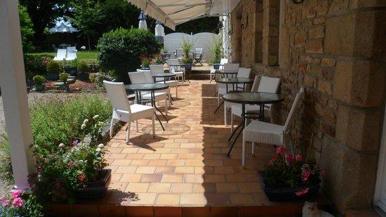 Hotel De Kerlon : terrasse