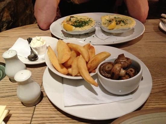 Elslack, UK: Dinner