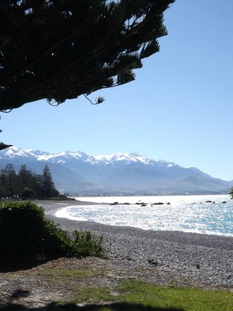 Kaikoura Apartments: The view