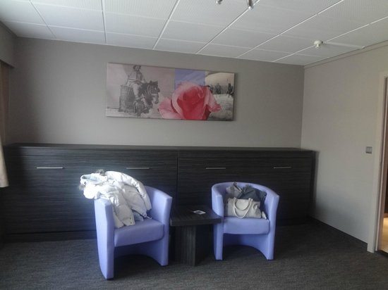Ostend Hotel : petit coin salon