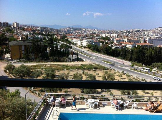 Ozka Hotel: Utsikt från rummet