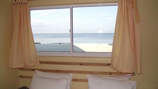Maafushi Inn, ocean view from the room