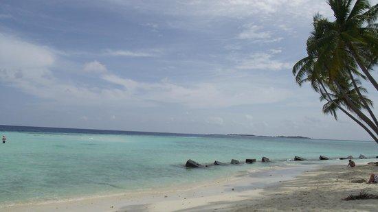 Maafushi Inn: Maafushi beach