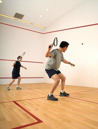Sheraton Grand Taipei Hotel: Squash court (17F)
