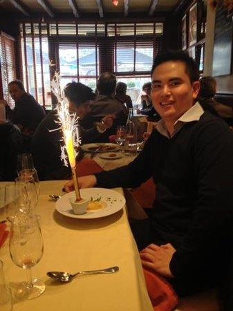 Le Tournesol: Dessert!